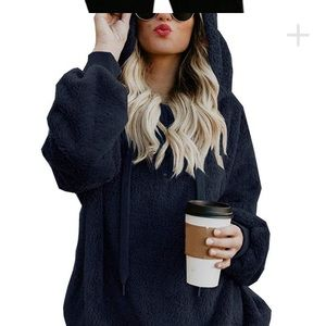 Tops - Hooded cozy goodness, oversized pullover